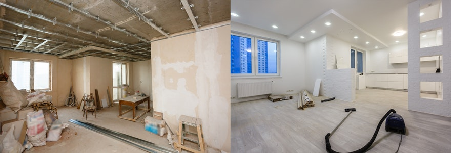 rénovation d'appartement