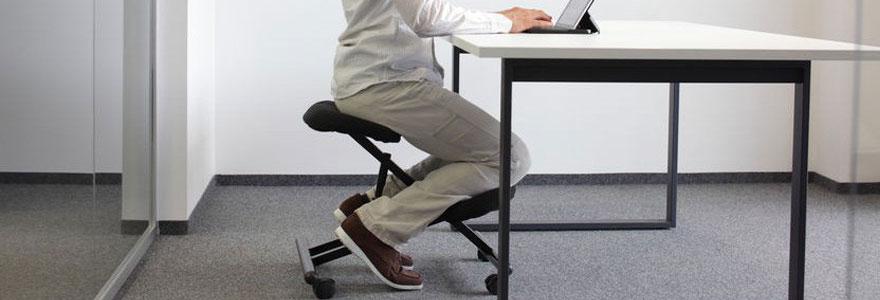 siège assis à genoux