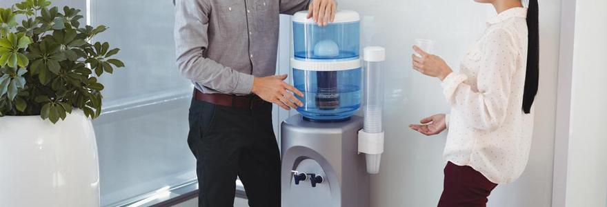 Types de fontaines à eau professionnelles